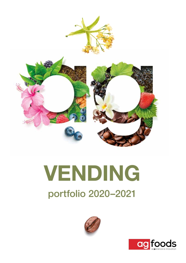 Vending - portfolio kawy, instant, non-food 2020-2021